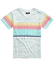 Univibe Big Boys Palermo Stripe V-Neck T-Shirt
