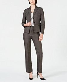 Le Suit Two-Button Pantsuit