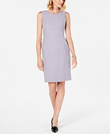 Petite Crepe Sheath Dress
