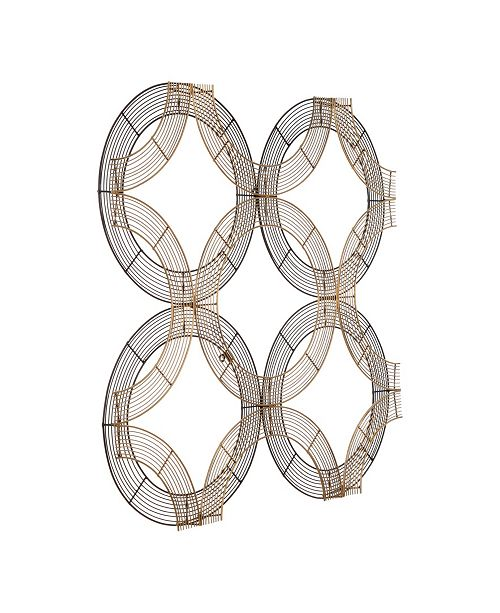"""Home Decorators Collection Reviews: Moe's Home Collection Anelli Wall Decor, 32"""" L X 32"""" W X 1"""