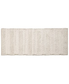 """Affinity Linens Braided and Loop Chenille Oversized 22"""" x 60"""" Bath Rugs"""