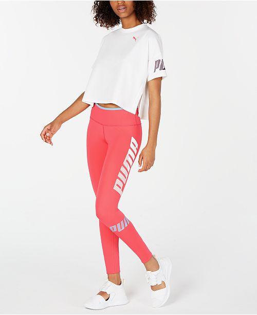 Puma Modern Sports Cropped Sweat T Shirt & Reviews Tops