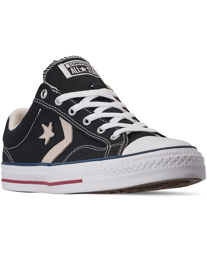 Converse Men's Star Player Low Top Casual Sneakers from Finish ...