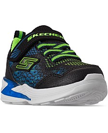 Skechers Toddler Boys Erupters III Stay-Put Light-Up Casual Sneakers from Finish Line