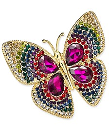 Gold-Tone Butterfly Boxed Pin, Created for Macy's
