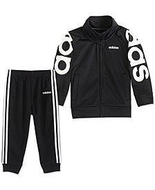 Baby Boys 2-Pc. Tricot Jacket & Jogger Pants Set