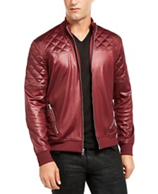 I.N.C. Men's Quilted Bomber Jacket, Created for Macy's
