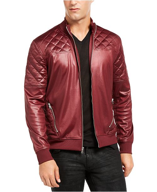 INC International Concepts INC Men's Quilted Bomber Jacket, Created for Macy's