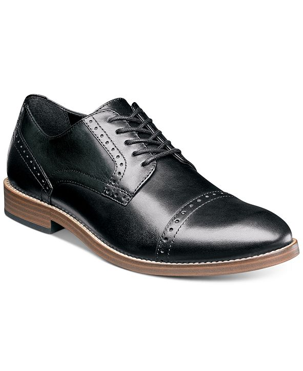 Nunn Bush Men's Middleton Cap-Toe Oxfords