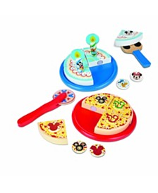 Melissa and Doug Mickey Mouse Pizza & Cake