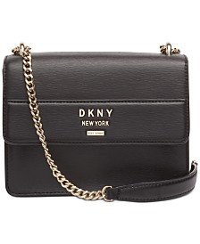 DKNY Ava Leather Shoulder Bag, Created for Macy's