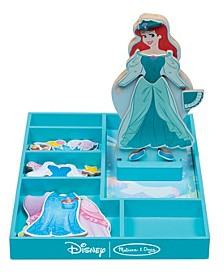 Ariel Wooden Magnetic Dress-Up