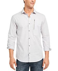 INC Men's Murdock Cross Hatch Shirt, Created for Macy's