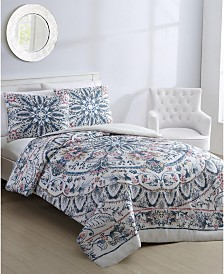 Via 3-Pc. Full/Queen Comforter Set