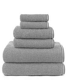 American Dawn Hyped Gratzee Mingled 6 Piece Bath Towel Set