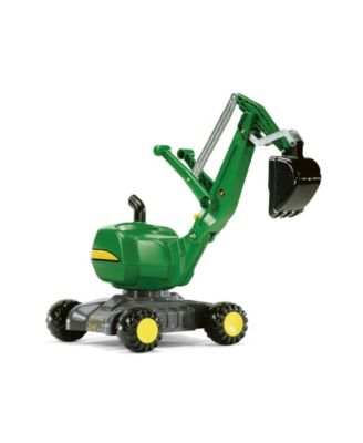 Rolly Toys John Deere Foot to Floor Digger for Outdoor Backyard Fun