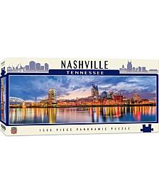 Masterpieces Nashville 1000 Piece Panoramic Puzzle