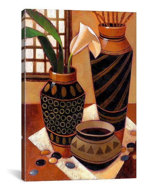 """iCanvas Still Life With African Bowl by Keith Mallett Wrapped Canvas Print - 60"""" x 40"""""""