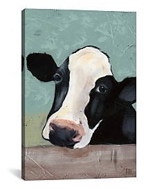 """iCanvas Holstein Cow Iii by Jade Reynolds Wrapped Canvas Print - 40"""" x 26"""""""