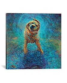 Shakin` Off The Blues by Iris Scott Wrapped Canvas Print Collection