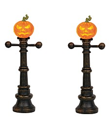 Dept 56 Halloween Street Lamps