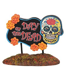 Dept 56 Day of the Dead Sign