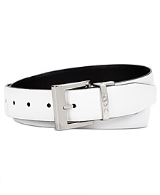 Saffiano to Smooth Reversible Belt