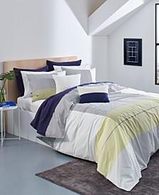 Lacoste Backspin King Comforter Set