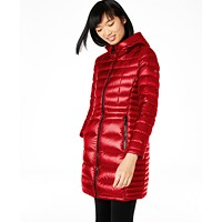 Deals on Calvin Klein Hooded Packable Puffer Coat