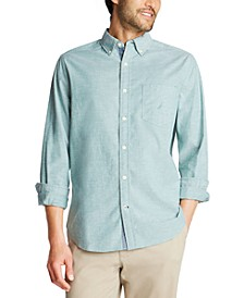 Men's Classic-Fit Oxford Solid Shirt