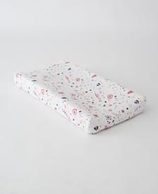 Little Unicorn Fairy Garden Cotton Muslin Changing Pad Cover