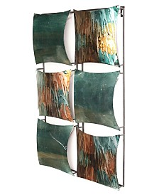 Heather Ann Creations Dina Collection 6-Panel Wall Decor