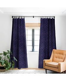 Deny Designs Ninola Design Cosmic Circles Ultraviolet Dots Curtain
