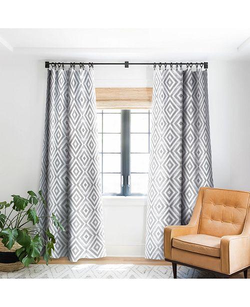 Deny Designs Little Arrow Design Co Diamonds Curtain