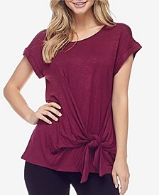 Women's Tie Front Top