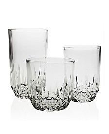 Bezrat Glass Drinking 18 Piece Set