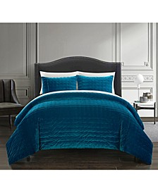 Chyna 7-Pc. Queen Bed In a Bag Comforter Set