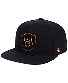 '47 Brand Milwaukee Brewers Townhouse Snapback Cap