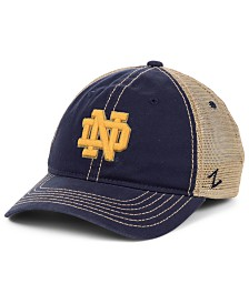 Zephyr Notre Dame Fighting Irish Crosswind Mesh Snapback Cap