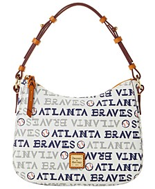 Atlanta Braves Small Kiley Hobo Bag