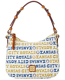 Dooney & Bourke Kansas City Royals Small Kiley Hobo Bag