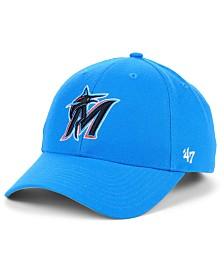'47 Brand Miami Marlins Core MVP Adjustable Cap