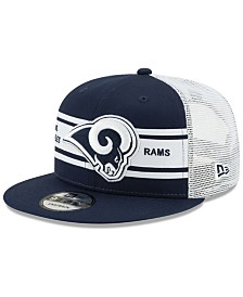New Era Los Angeles Rams Classic 77 Stripe Mesh 9FIFTY Cap