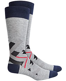 Men's Abstract Geometry Socks, Created for Macy's