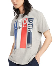 Tommy Hilfiger Denim Men's Vlad Logo Graphic T-Shirt