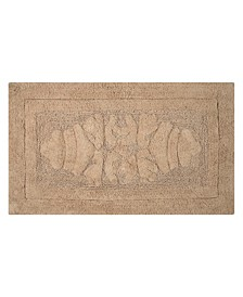 "Cipher 17"" x 24"" Bath Rug"