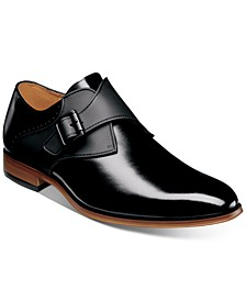 Men's Sutcliff Plain-Toe Monk-Strap Shoes