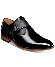 Stacy Adams Men's Sutcliff Plain-Toe Monk-Strap Shoes