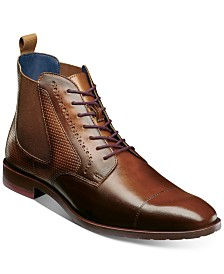 Stacy Adams Men's Rigby Cap-Toe Boots