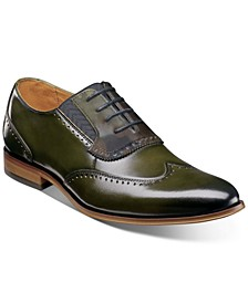 Men's Sullivan Wingtip-Toe Oxfords